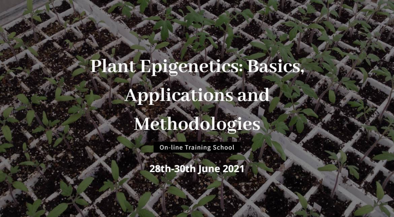 Plant Epigenetics: Basics, Applications and Methodologies. On-line training school